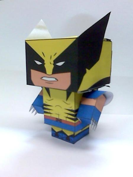CubeCraft Wolverine