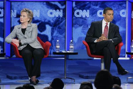 Barrack Obama & Hillary Clinton