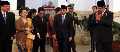 Susilo Bambang Yudhoyono & Megawati