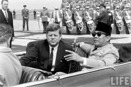 Soekarno & Kennedy