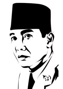 Ilustrasi Vector Soekarno